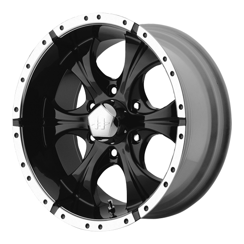 Details about 16 inch black helo wheels 8 lug rims chevy 2500 suburban