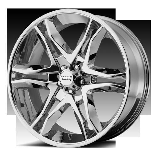 18 inch Chrome Mainline Wheels Rims Chrome 6 Lug Chevy Tahoe GMC